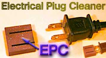 EPC--Note the tarnished blades of the plug in the main picture.  The inset photo shows the plug after cleaning.