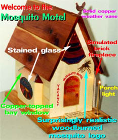 The Mosquito Motel:  revenge for my old nemesis